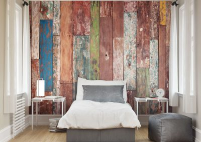 Weathered Boards Mural